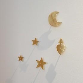 Clous décoratif en laiton doré