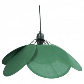 Suspension Fleur - Vert Lichen