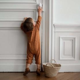 Combinaison bébé coton bio dots - Bonjour Little