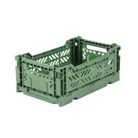 Cagette pliante Aykasa - Vert amande