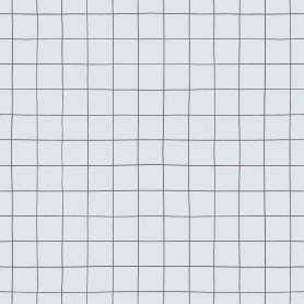 Papier peint quadrillage - Iode