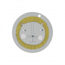 set de table enfants - Lion