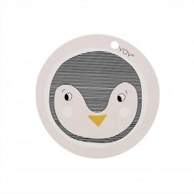 set de table enfants - Pingouin