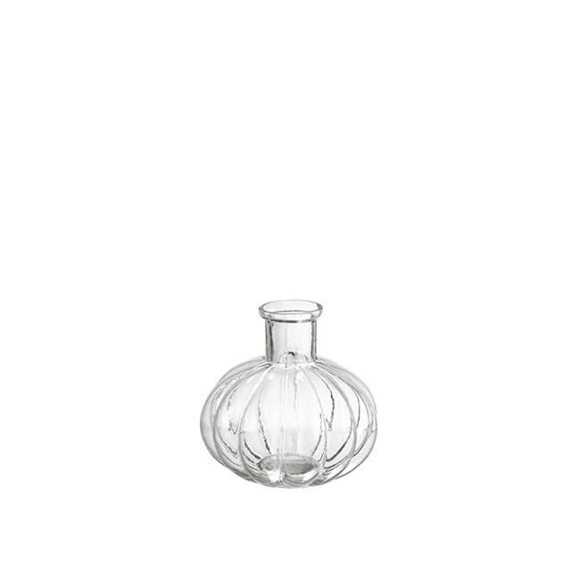 Mini vase soliflore en verre rétro