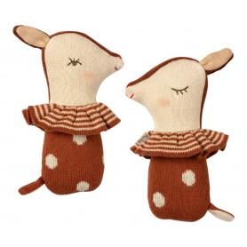 Hochet Bambi - Maileg - Sienne