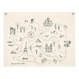 Carte de Paris - Rose in April
