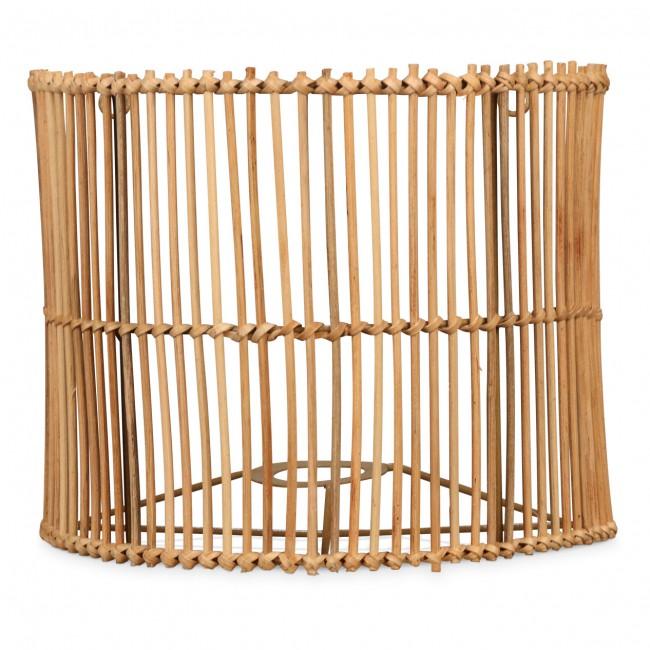 Applique murale en rotin Cage
