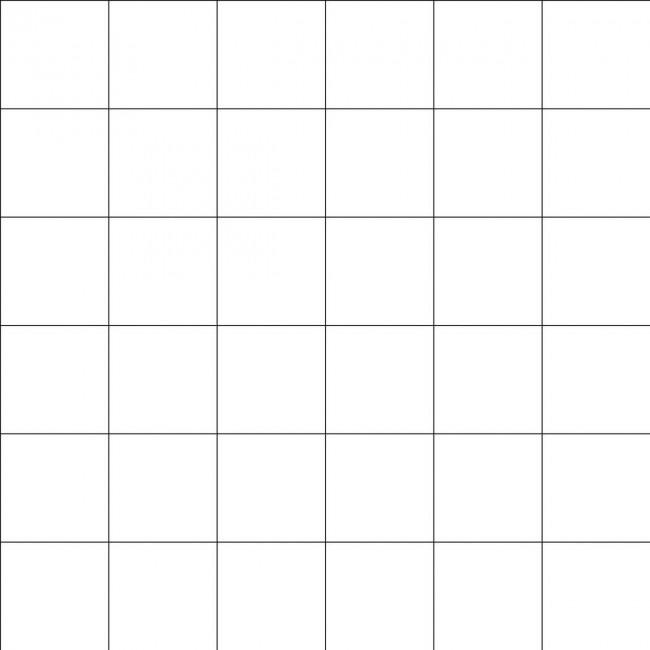 Papier peint motif carreaux noir sur blanc