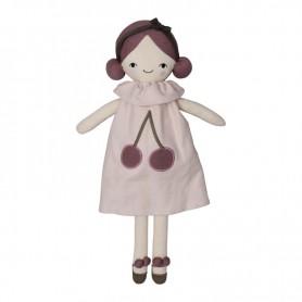 Grande poupée de tissu Fabelab - Cerise
