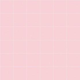 Papier peint motif carreaux blanc sur rose