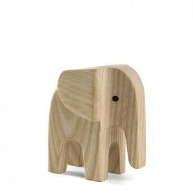 Objet décoratif en bois Animaux - Éléphant