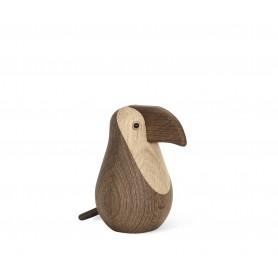 Objet décoratif en bois Animaux - Toucan