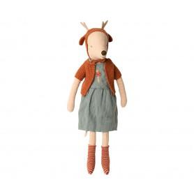 Souris Bonnet Cerf Maileg - Maxi - Girl