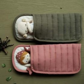 Sac de couchage pour poupée - Fabelab - Vieux rose
