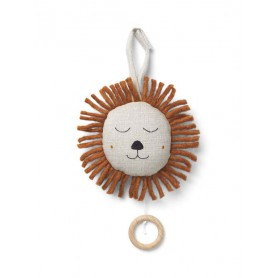 Lion Musical Ferm Living - Naturel