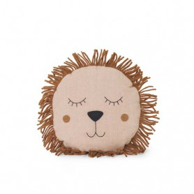 Coussin Lion Ferm Living - Dusty rose