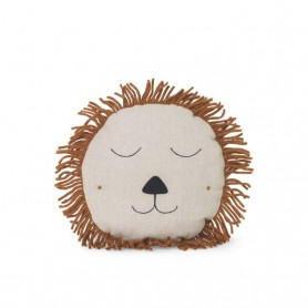 Coussin Lion Ferm Living - Naturel