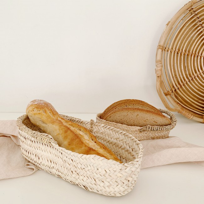 Panier marocain ovale long