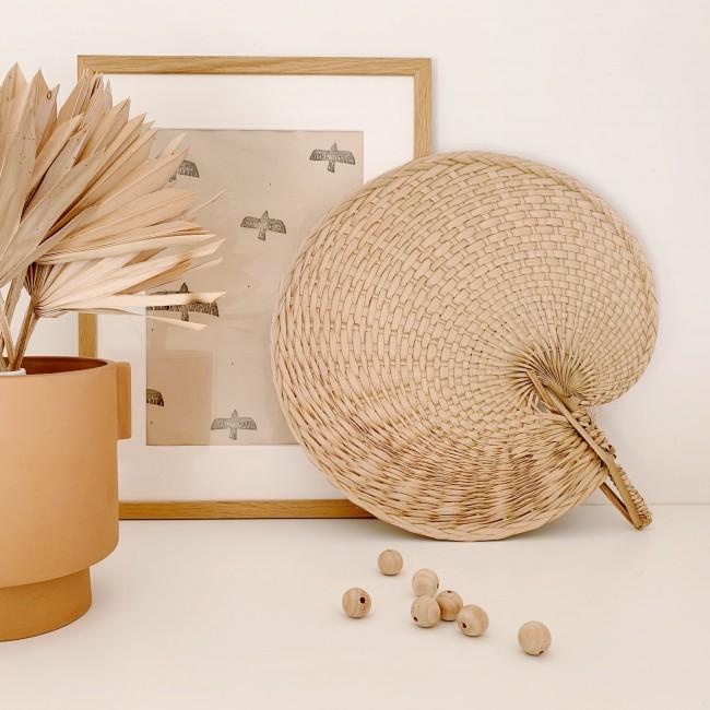 Eventail décoratif escargot