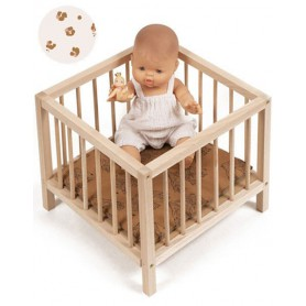 Parc en bois pour poupée - HOLLY