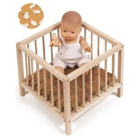 Parc en bois pour poupée - Poussin