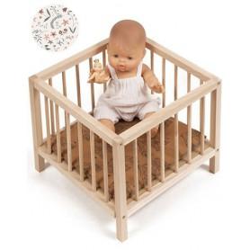 Parc en bois pour poupée - Nina