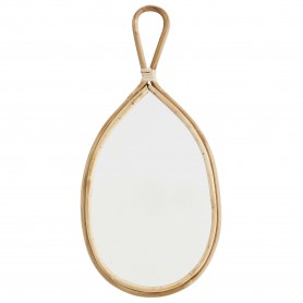 miroir goutte cadre bambou Madam Stoltz