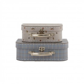 Mini valise Tiger and Grid Oyoy - lot de 2