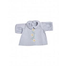 Vêtement pour poupée - Olli Ella - Daisy Dress - Cornflower Blue