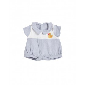 Vêtement pour poupée - Olli Ella - Ducky Romper - Cornflower Blue