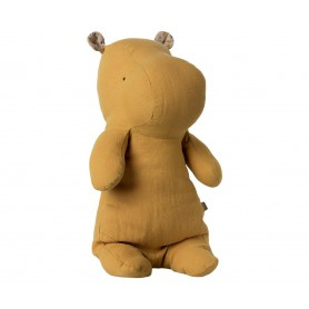 Safari Friends - Maileg - Medium Hippo Dusty Yellow