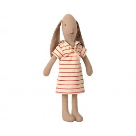 Doudou Lapin Maileg - Bunny Striped Dress - Taille 2