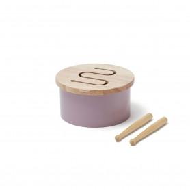 Tambour en bois - Kids Concept - Lilas