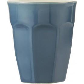 Tasse Cafe Latte Mug en grès - Mynte - Blau atlantique
