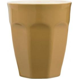 Tasse Cafe Latte Mug en grès - Mynte - Moutarde