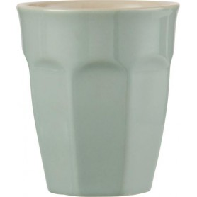Tasse Cafe Latte Mug en grès - Mynte - Jade