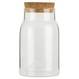 Pots en verre avec bouchon - 2