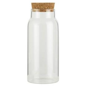 Pots en verre avec bouchon - 4