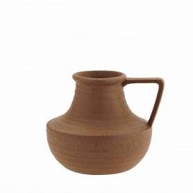 Vase cruche en grès - Madam Stoltz - Terracotta
