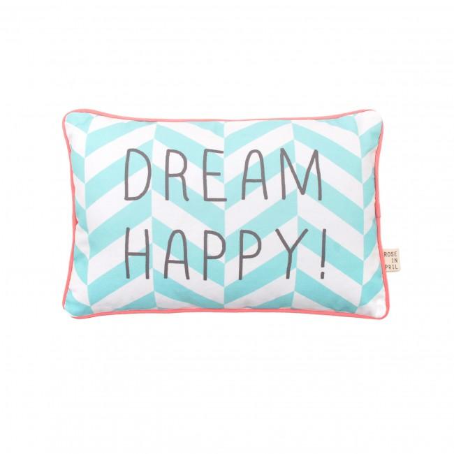 Coussin enfant message - Dream Happy