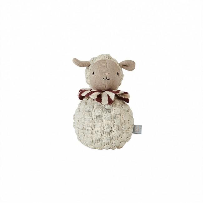 Culbuto Roly Poly Mouton blanc Oyoy