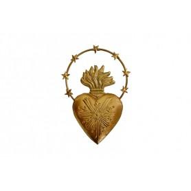Cœur doré - Boncoeurs - Coeur aureole