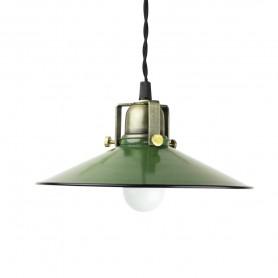 Suspension atelier en métal - Vert