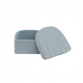Boite à collation silicone Snack box Oyoy - Bleu