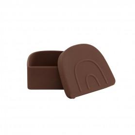 Boite à collation silicone Snack box Oyoy - Caramel