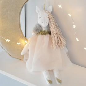 Poupée Licornette fée rose